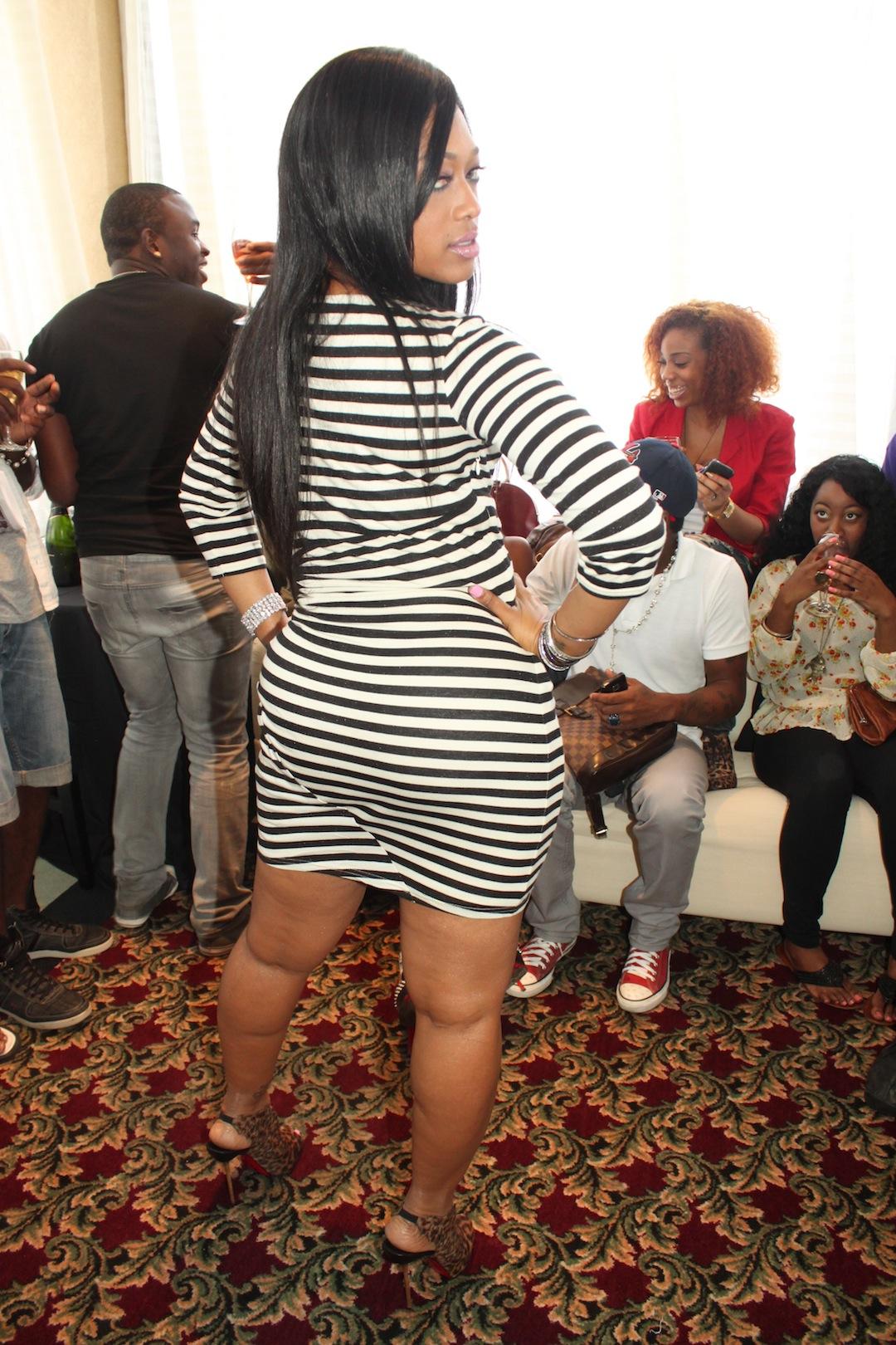 Rapper Trina Mingles With Her Fans In Atlanta Ga  74 -8197