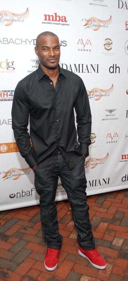 Stars Welcome Tyson Beckford Bethann Hardison To Atlanta