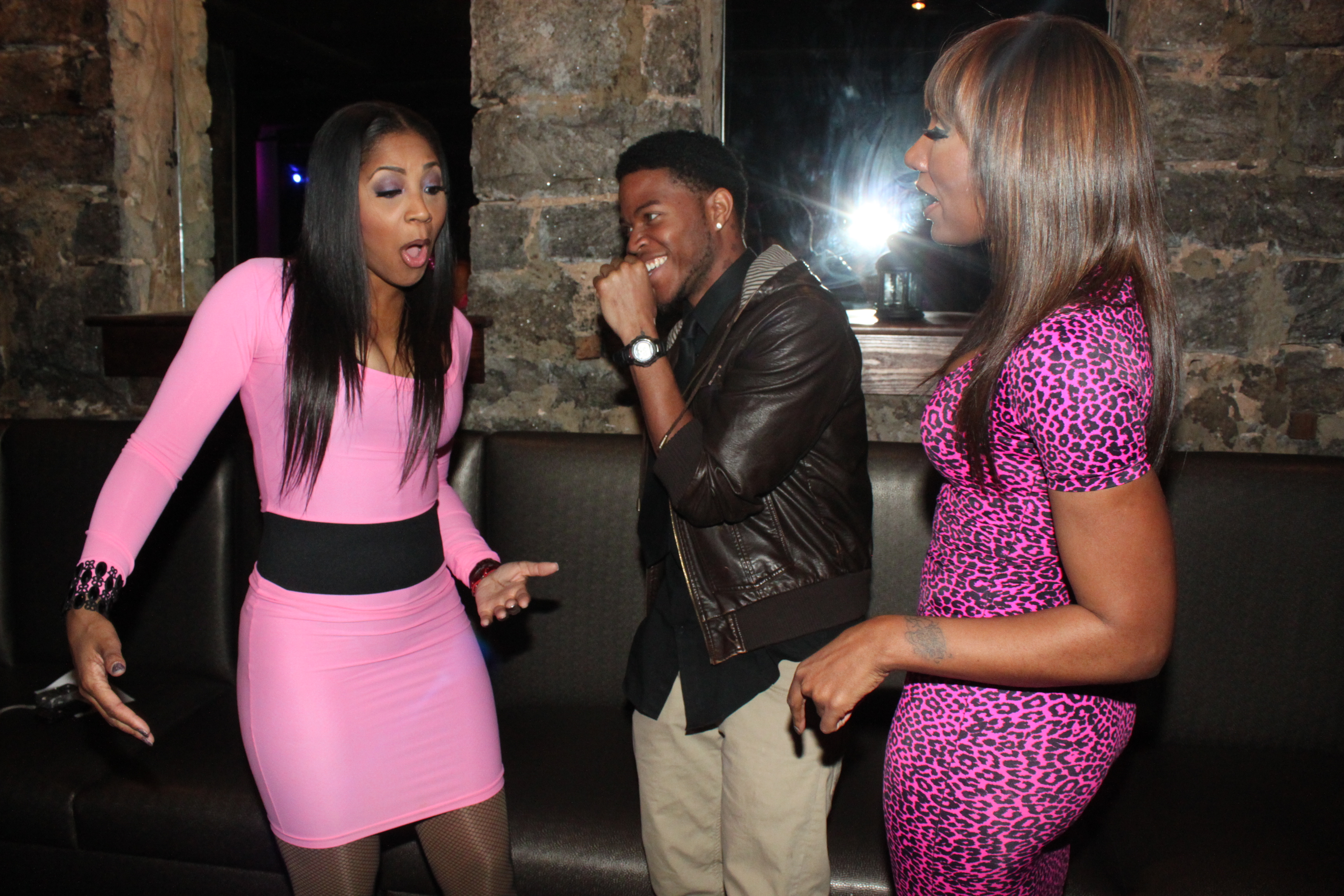 pink in february with towanda and trina braxton and love